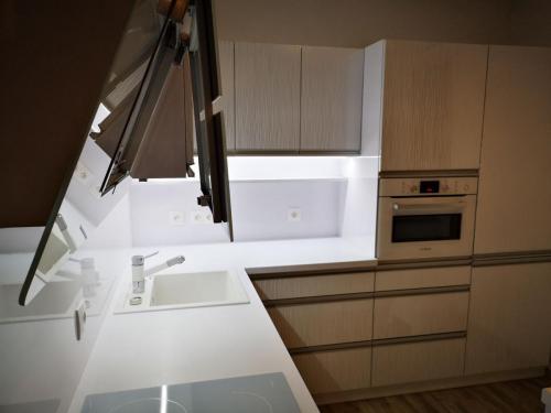 Vyčistenie kuch. linky - Fotografia našej práce